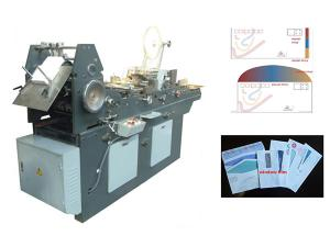 Automatic Flap Gluing Envelope (Pocket) Making Machine
