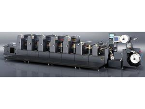 Intermittent PS Label Offset Printing Machine