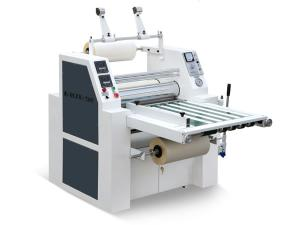 Hydraulic Thermal Film Laminator (with Slitting)