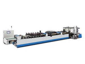 ZKZD-D600 High Speed (three-servo) Three Side Sealing Zipper Stand-up Bag Making Machine