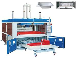 Plastic Sheet Vacuum Forming Machine, XSH Series