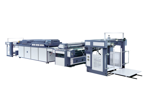 Automatic Paper UV Varnishing Machine