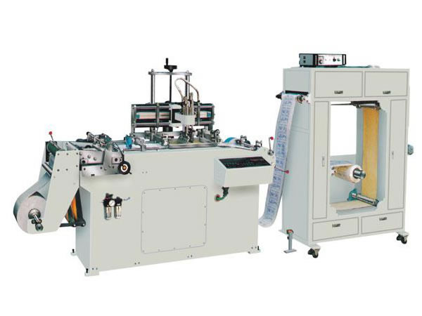 Real Type Silk Screen Printing Machine