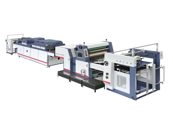 Spot UV Varnishing Machine