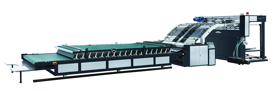 High Speed Automatic Carton Laminating Machine