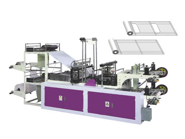 Plastic Roll Bag Making Machine (Microcomputer Controlled High Speed Type)