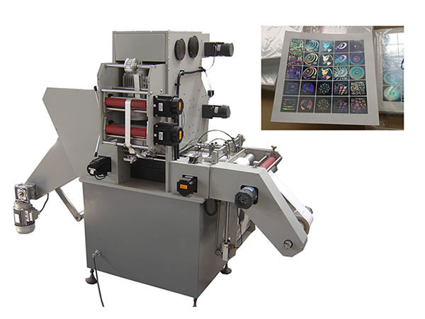 MYJ320B Label Hologram Positioning Foil Stamping Machine