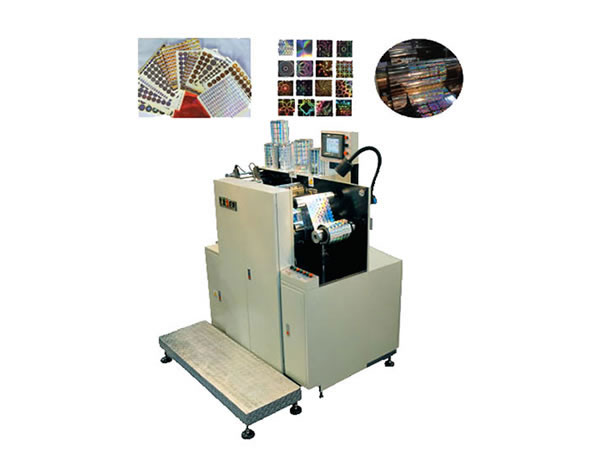 Laser Holographic Equidistant Embossing Machine