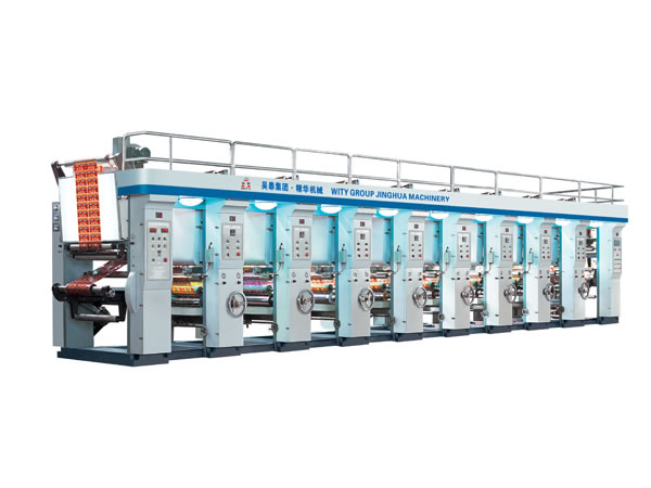 Economical Auto Register Gravure Printing Press