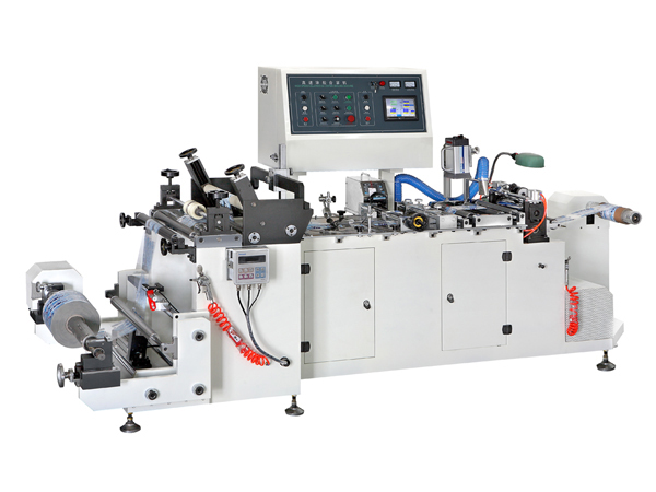 High Speed Gluing Center-Seal and Gusset Machine