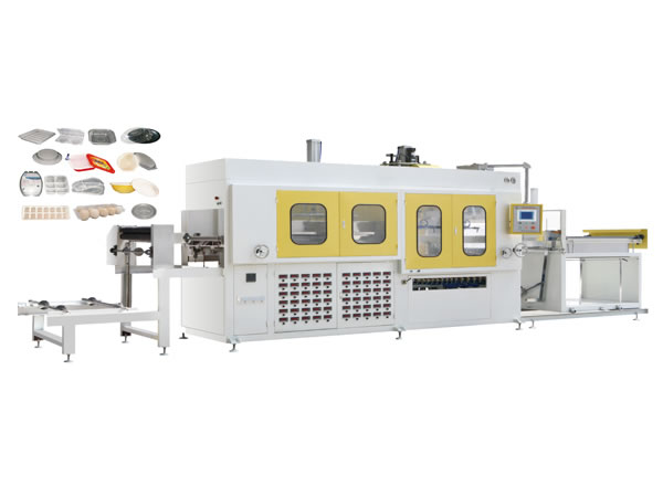 Automatic High Speed Vacuum Forming Machine A Series