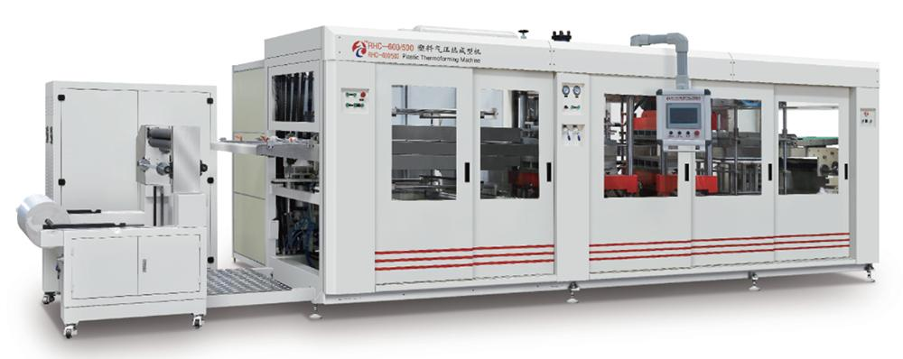 Plastic Thermoforming Machine, RHC Series